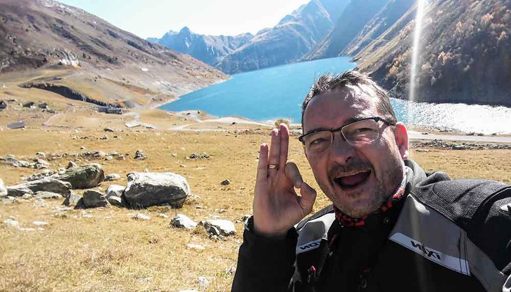 Balade en Oisans, balade moto route grandes alpes