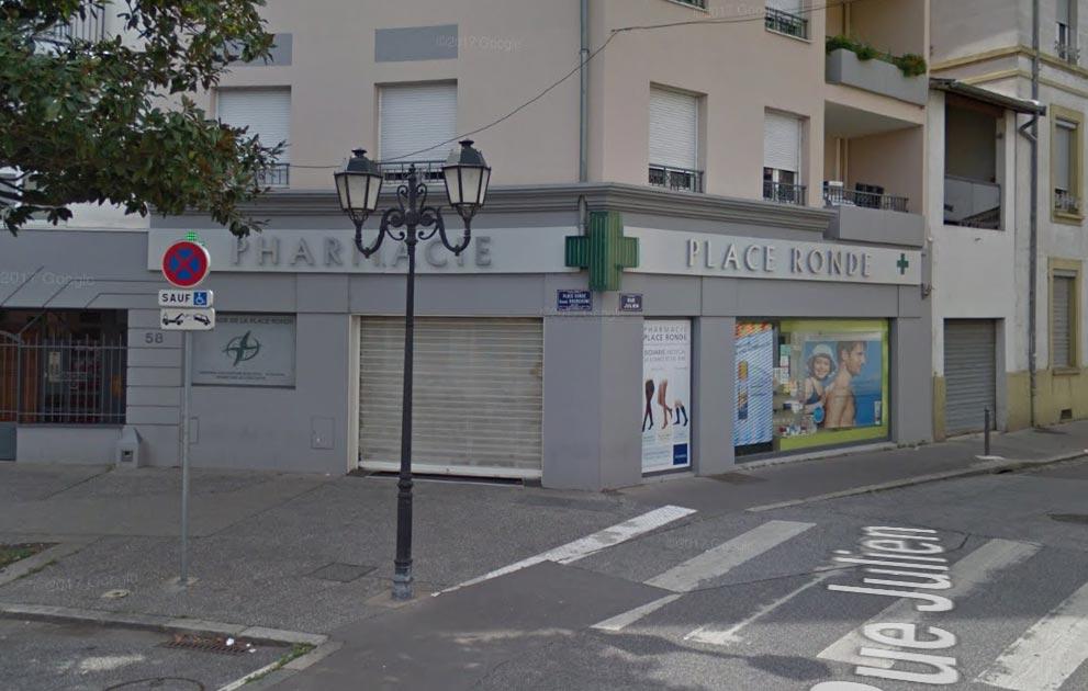 pharmacie de la place ronde Montchat