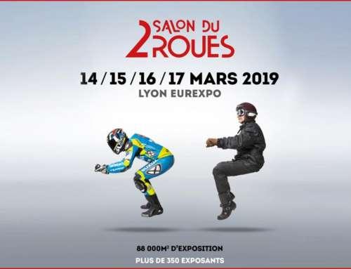 Rendez-vous au Salon du 2 Roues à Lyon du 14 au 17 mars 2019 à Eurexpo