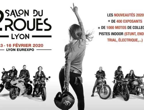 Salon du 2 Roues de Lyon du 13 au 16 février 2020 à Eurexpo ! GO ! C'est parti !